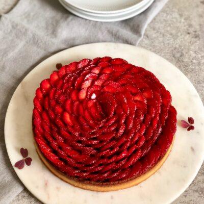 Jordbærtærte – der smager af sommer!