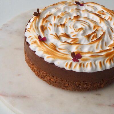 Chokolade cheesecake