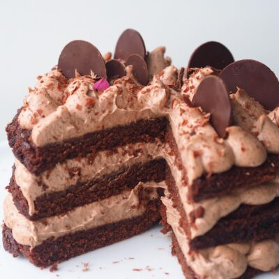 Chokolade lagkage