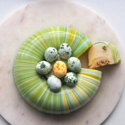 Påskekage med citron og marengs