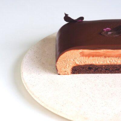 Overdådig chokoladekage